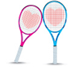 lilyleia78: Two tennis raquets with hearts on the strings (Love: tennis)