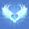 lilyleia78: Two wings making a heart shape in the center where they meet (Love: wings)