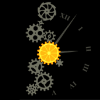 rising: a lemon clock illustration thingamajig icon! (the cadre: clockwork)