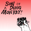 "sylleptic: Bucky with paws on head, yelling ""Son of a dung monkey!"" (comics; Get Fuzzy; dung monkey)"