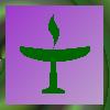 zvi: Unitarian Universalist flaming chalice (uu)