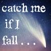 "azurelunatic: ""catch me if I fall"", shooting star (R.E.M.)"