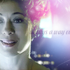 trialia: River Song (played by Alex Kingston) smiling serenely at the camera while saying 'There's always a way out.' (who] river - always a way out)