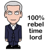 sally_maria: cartoon image of Peter Capaldi doctor (Doctor 12 Rebel)