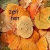 """kass: orange aspen leaves, """"zen fen"""" (aspen zen fen)"""