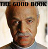 "kass: Shepherd Book; caption ""The Good Book."" (book)"