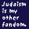 "kass: ""Judaism is my other fandom."" (judaism)"