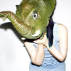 murklins: white woman with elephant head (Default)