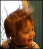 kate_nepveu: toddler with sticking-up flyaway hair (SteelyKid - fabulous bedhead (2011-03))