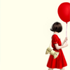 gaucherie_pie: girl with balloon (balloon)