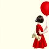 gaucherie_pie: girl with balloon (balloon)