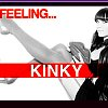 "littlemousling: Still from a Cobra Starship video, shows Vicky-T with the caption ""Feeling ... kinky"" (kinky)"
