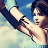 leonhart: rinoa from second disc fmv holding on to a cable (freedom fighter)