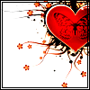 skywardprodigal: a red heart with a winged woman in the center (<3)
