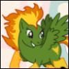 ambersweet: Phoenix of the X-Men as a My Little Pony (Phoenix!Pony)