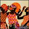 ninetydegrees: Painting: women dancing (dancing)