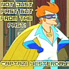 futurama: (captain yesterday)