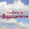 """annalee: """"I Believe In Dreamwidth,"""" floating in a cloudy sky (Dreamwidth)"""