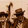 theladyscribe: Etta Place and Butch Cassidy laughing. (Default)
