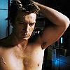 big_damn_hero: (shirtless} sleepy / confused)