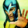effienell: Michael Fassbender as Magneto, wearing the yellow suit and the black helmet, his hand reaching out (xmfc, magneto) (Default)