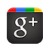 googleplus: G+ mobile logo: a black square with g+ in white text and colored tabs across the top (g+)