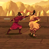 esmenet: Azula and Zuko fighting on the deck of Azula's ship, circa early season two (sibling love-love)