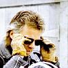 highlander_ii: Mac putting on his aviator sunglasses ([MacGyver] gotta wear shades)
