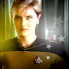 muccamukk: Tasha Yar with little star decorations. (ST: Tasha)