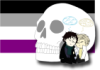 mangal2012: chibi!Sherlock & chibi!John snooze against Billy w/ Ace flag in background! (Default)
