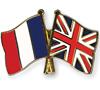 daigakulia: crossed France and UK flags (Furansu/Igirisu)