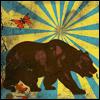 skywardprodigal: un l'ours et un papillon (l'ours et papillon)