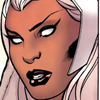 lilacsigil: Ororo/Storm face close-up (Storm)
