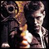 stripytights: (Dean with gun)