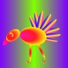 safieri: what a turkey would look like if you were on an acid trip (Technicolor Turkey) (Default)