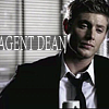 belladonnanoir: The super lovely Dean as a  FBI agent (FBI)