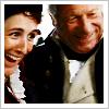 semielliptical: The Crofts smiling. (Persuasion, 1995) (persuasion:crofts)