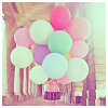 dauphinette: (stock - pastel ballons)