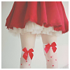 dauphinette: (stock - red bows)