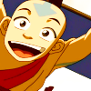 kate: Aang found you! :D (Atla: Aang peekaboo)