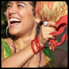 skywardprodigal: Lila Downs laughs and does percussion (lilah!)