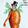 inevitableentresol: a Victorian gentleman with the body of a carrot (carrot gentleman)