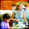 sgatazmy: Jeannie and her daughter baking. (kids)