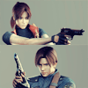 defibrillate: (Leon and Claire have some guns)