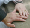 ray_of_light: (Married hands!)
