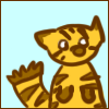 thisfishflies: doodle of a tiger (Imma a tiger)
