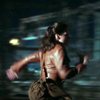 balsamandash: Peggy Carter (Agent Carter) running in profile (mcu] a moving target's hard to hit)