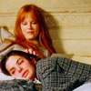 balsamandash: Sally and Gillian Owens (Practical Magic), curled up together (pm] i know it's you who'll shelter me)