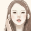 gaucherie_pie: girl with headset (headset) (Default)