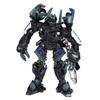 halialkers: Alien robot with black color frontal view (Barricade)